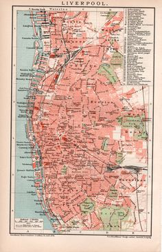 Everton England Map.32 Best Liverpool Old Posters Images Vintage Travel Posters