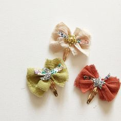 A closer view of our upcoming Constellation Gauze Bows with #libertyoflondon…