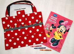 Crayon Storage Bag, Kids Art Supplies Storage, Travel Coloring ...