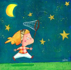 Chase your stars on the way to bed Sleepyhead.
