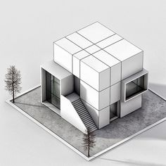 cubic home number 4 www . Conceptual Model Architecture, Interior Architecture Drawing, Maquette Architecture, Architecture Model Making, Architecture Concept Drawings, Origami Architecture, Architecture Portfolio, Amazing Architecture, Modern Architecture