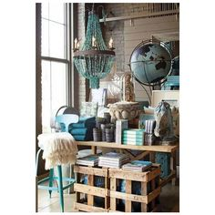 """HOMEWARE DISPLAY, """"A place for Everything and Everything in its Place"""", pinned by Ton van der Veer"""
