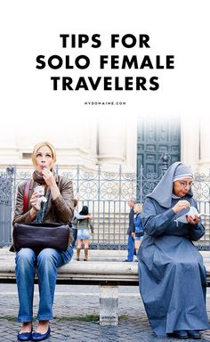 Calling all solo female travelers! Here's how to make traveling the most safe Travel Tips Solo Travel Tips, Travel Advice, Travel Hacks, Travel Ideas, Budget Travel, Travel Stuff, Cheap Travel, Travel Goals, Travel Essentials