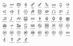 Vector icons Pack For iOs 8, iOS 7 & Android- Icons Mind