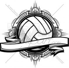 Volleyball Clipart Logo Clipart Image.