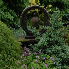 Pocket Garden - traditional - landscape - portland maine - James R. Salomon Photography