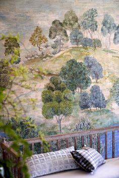 Tricia Guild, Green Valley, Design Department, Painting Studio, Designers Guild, Fabric Wallpaper, Cool Eyes, Designer Wallpaper, Marlow
