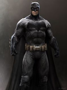 New BATMAN V SUPERMAN Concept Art Released Featuring The Dark Knight