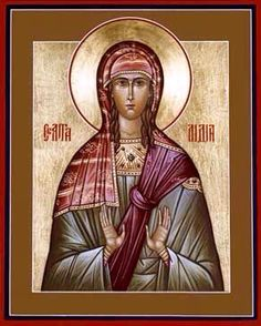 Saint Lydia was born in Thyatira, a town famous for its dye works. She was a seller of purple dye and was St. Paul's first convert at Philippi. Catholic Saints, Patron Saints, Roman Catholic, Santa Lidia, Catholic Online, Early Christian, Christian Church, 1st Century, Religious Icons