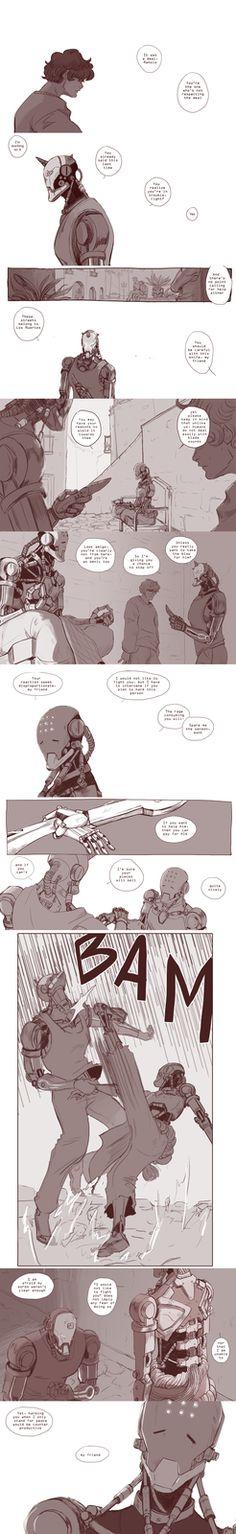 Zenyatta and the Self-hating Omnic