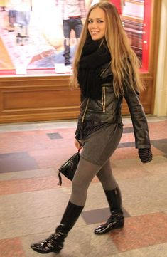 Filippa K Scarf, Zara Dress, Furla Bag