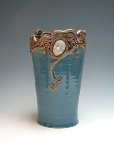 coiled vase | Ceramics | Pinterest