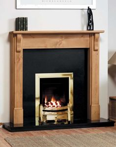 Waterford Solid Pine Fire Surround