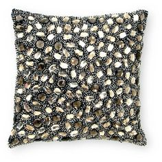 Donna Karan Modern Classics Raw Diamond Decorative Pillow