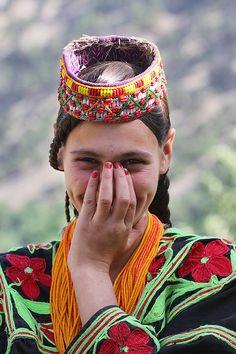 Kalashi Girl, Pakistan