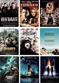 movies josh hutcherson has been in. @corriewelkener- we ARE having a jhutch movie marathon.