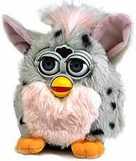 Furbys,... I remember being obsessed with these things. lol
