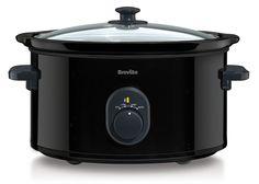 Breville VTP105 Black 4.5 L Slow Cooker: Amazon.co.uk: Kitchen & Home