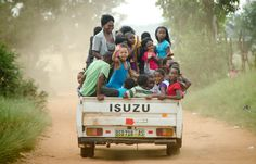 This reminds me of a ride Shelly and I took in Malawi from Cape McCleare to Monkey Bay! Everyone needs a ride.