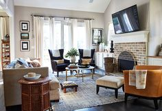 Today I'm excited to share the home of Natalie Nassar  featured last week on How To Decorate . Her layered eclectic style drew me in - war...