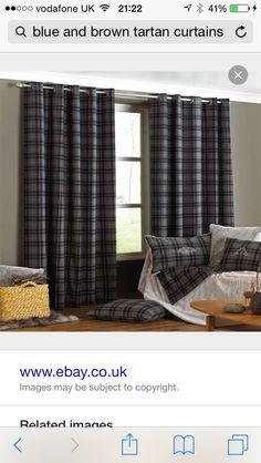 Curtain Fabric Highland Wool Tartan Amethyst Check Plaid Tweed Upholstery Upholstery Plaid