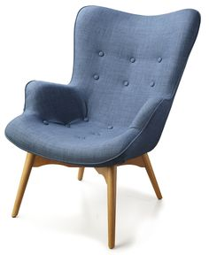Foxtrot fauteuil Blauw - Dyyk