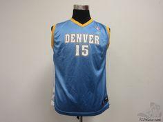 Reebok Denver Nuggets Carmelo Anthony #15 Basketball Jersey sz Youth XL NBA #Reebok #DenverNuggets #tcpkickz
