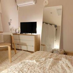 Room Design Bedroom, Small Room Bedroom, Home Bedroom, Bedroom Decor, Bedrooms, Study Room Decor, Appartement Design, Minimalist Room, Aesthetic Room Decor