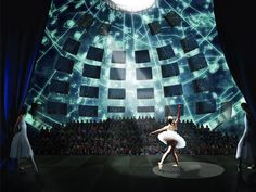 Taipei performing arts centre by OMA (visualisation of the globe theatre)