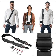 Slide and Clutch: Versatile Camera Sling and Hand Strap by Peter Dering — Kickstarter