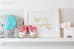 Naps Fix Everything Wall Art - adorable!