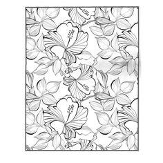 Libro Para Colorear Flores 600x600