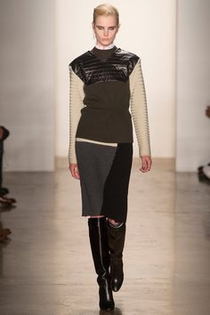 New York Fashion Week: Louise Goldin, Fall 2013