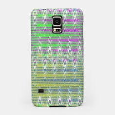 Samsung Galaxy phone case Colorful Zigzag Pattern #liveheroes #samsung #electronics #gifts
