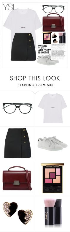 """""""Untitled #52"""" by diasarygina ❤ liked on Polyvore featuring Yves Saint Laurent"""