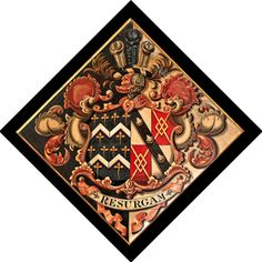 How and why hatchments were used. How to read hatchments and funerary monuments in churches, and work out family relationships Baronet, John The Baptist, Coat Of Arms, Porsche Logo, Funeral, Black Backgrounds, Knight, Flag, Monuments