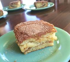 Cinnamon Coffee Cake that isn't just for coffee. This moist delicious treat is a family favorite and I hope will become one of yours too!
