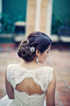 """Make your wedding hairstyle extra special and striking by adding some hair extensions!   100% Remy Human Hair Extensions   45 shades   Lengths from 15"""" to 26""""   Free Worldwide Delivery   Click the image to shop now  www.cliphair.co.uk"""