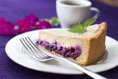 Tarta de Café y Arándanos Te enseñamos a cocinar recetas fáciles cómo la receta de Tarta de Café y Arándanos y muchas otras recetas de cocina..