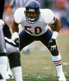 """Mike Singletary - """"Monsters of the Midway""""."""