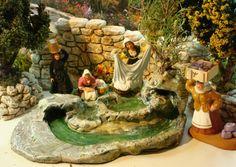 Santons Carbonel, Magali et Lou Christou, la marchande de savons