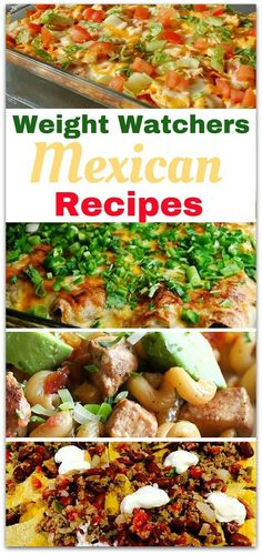 If you love Mexican food, adding Weight Watchers Mexican recipes to your menu is going to keep you satisfied with your food choices. Enjoying your food means you will stay on the program longer.