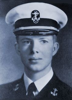 Jimmy Carter-United States Navy Lieutenant World War II at the United States Naval Academy Sea duty and stateside service 1946-1953 during the Korean War