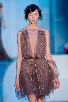 Elie Saab at Couture Fall 2011 - Livingly