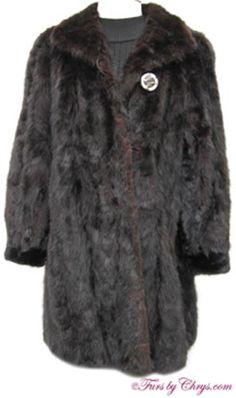 Black Mink Sections Stroller Jacket Size Range: 12 - Price: SOLD, Very Good Condition Mink Coats, Mink Fur, Fur Coat, Shoulder Pads, Contemporary Design, Cuff Bracelets, Cuffs, Monogram, Exterior
