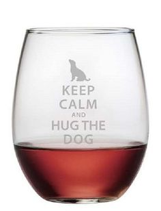 Dogs give us stress relief from our hectic days, celebrate them with these clever wine glasses!