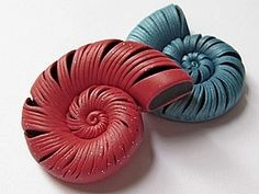 Snail component - picture tute (russian). Easy concept. #Polymer #Clay #Tutorials