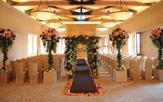 The Resort at Pelican Hill | Weddings | Indoor Events in La Capella | weddings, pelican hill resort, bridal, wedding venues, wedding decor. pelicanhill.com
