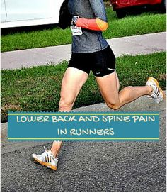 Spine Pain Linked to Running with a Heel Strike - Compressive forces at heel strike changes disk height, thereby amplifying spinal impact