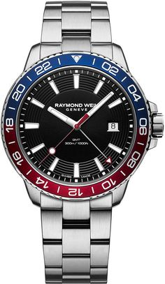 Raymond Weil Watch Tango 300 Mens Watch available to buy online from with free UK delivery. Stainless Steel Watch, Stainless Steel Bracelet, Diesel Watches For Men, Relic Watches, Mens Digital Watches, Raymond Weil, Black Quartz, Stylish Watches, Watch Brands